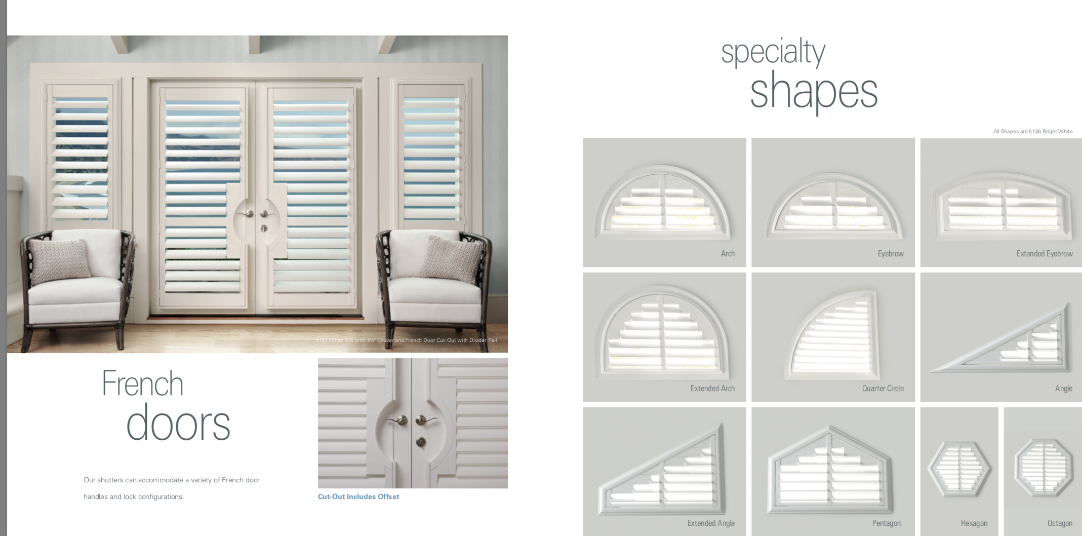 Speciality Shapes Shutters Mfg Company